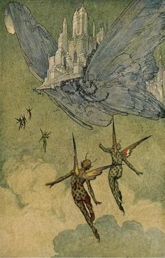 The flying islands of the night (1913)Illustrations by Franklin Booth