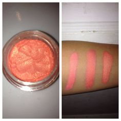 PILI COSMETICS Mango Sorbet - Hawaiian Natural Mineral Eyeshadow 5g on Etsy, $4.00