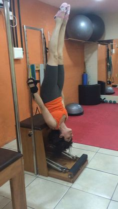 Flávia Assaife trainning Pilates