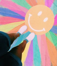 Ur radiant boo ✰ vibezzz ✰ art, summer aesthetic и chalk art Rainbow Aesthetic, Summer Aesthetic, Sidewalk Chalk Art, Chalk Drawings, Happy Vibes, Mellow Yellow, Picture Wall, Photo Wall, Wall Collage