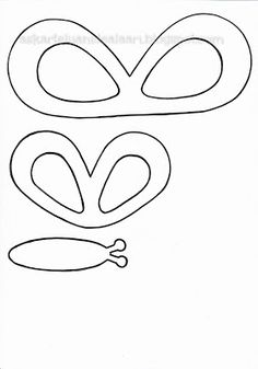 Askartelijan idealaari: Kaavoja töihin Craft Club, Coloring Sheets, Paper Flowers, Origami, Crafts For Kids, Projects To Try, Butterfly, Ideas, Butterfly Template