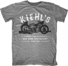KIEHL'S T-shirt Design | Print Design & Graphic Inspiration