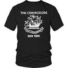 New York T-shirt - The Commodore Hotel New York Vintage Matchbook