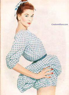 Couture Allure Vintage Fashion: Tom Brigance Convertible Sportswear, 1958