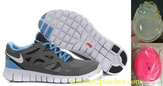 Femmes Nike Free Run 2 running shoes Free Running Shoes, Nike Free Shoes, Nike Shoes Outlet, Running Sneakers, Sneakers Nike, Blue Sneakers, Nike Running, Runs Nike, Nike Free Run 2