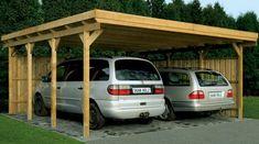 Carport Bois Lausitz1 554 x 550 cm au meilleur prix ! - LeKingStore