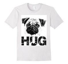 Men's PUG HUG DOG LOVER T-SHIRT 2XL White PUG HUGS https://www.amazon.com/dp/B01NCFHZ7B/ref=cm_sw_r_pi_dp_x_M7qqybWN7CQXK