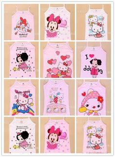 Wholesale MICKEY summer kids cotton child minnie cartoon vest girl's clothing children t shirts boy animal fashion tee brand tops, Free shipping, $2.07/Piece | DHgate Mobile