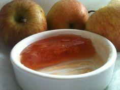 Gelée d'épluchures de pomme - féve de tonka