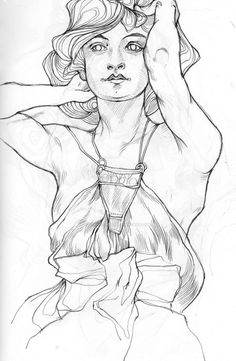 mucha sketch II by reminisense on DeviantArt
