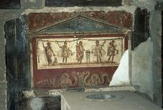 Wall Painting, Pompeii by TyB, via Flickr