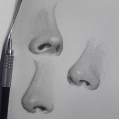 Good Photo pencil drawing nose Strategies These pencil drawing techniques from top artists will help you take your drawing skills to another l Pencil Drawing Tutorials, Pencil Art Drawings, Realistic Drawings, Art Drawings Sketches, Drawing Tips, Drawing Ideas, Realistic Rose, Drawing Techniques, Pencil Portrait Drawing
