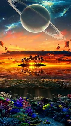galaxy in cosmos Planets Wallpaper, Wallpaper Space, Galaxy Wallpaper, Nature Wallpaper, Wallpaper Backgrounds, Fantasy Landscape, Fantasy Art, Planets In The Sky, Ciel Nocturne