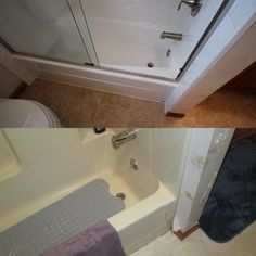 Before And After  Away With The Green Tile And We Added A Brand Simple Bathroom Remodeling Lancaster Pa 2018