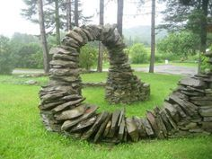 Image result for low staggered natural stone retaining wall