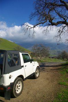 Yokohl Valley, Exeter CA Exeter, Samurai, Car, Automobile, Vehicles, Cars, Autos, Samurai Warrior