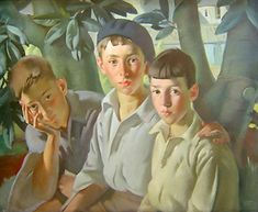 Three Boys by Bernard Fleetwood-Walker