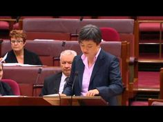 """I have seen bigotry face on ..."" << Intelligent and articulate, Penny Wong. I'm glad she's on the progressive side of politics."