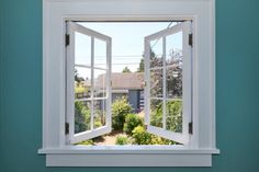 Some simple and basic Feng Shui tips about windows. Are overhead skylights brilliant or a distraction? Read on. Interior Window Trim, Window Company, Window Casing, Small Sheds, Window Types, Feng Shui Tips, Window Repair, Casement Windows, Open Window