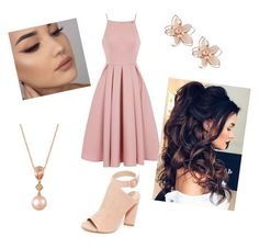 """""""Summer Date"""" by nicole-okopski on Polyvore featuring Chi Chi, Kendall + Kylie, NAKAMOL and LE VIAN"""