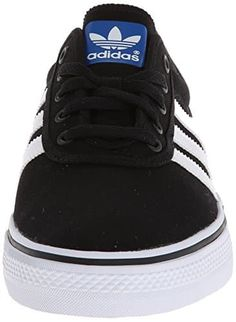 adidas Performance Men's Adi-Ease Skate Shoe,Black/White/Black,7 M US: Skate Shoe