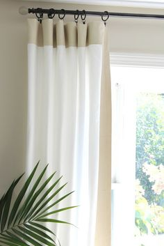 diy curtain rod from pvc pipe