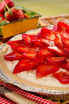 You'll want to have your cheesecake & eat it too with this recipe for Strawberry Cheesecake Ice Cream Pie. Enjoy every rich slice of graham cracker crust, sliced strawberries, Breyers Real Fruit Strawberry Topping & Breyers Natural Vanilla Ice Cream.