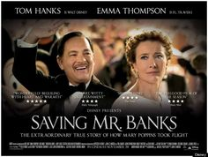 """Saving Mr. Banks Delivers """"In a most delightful way""""--Repin if you liked the movie."""