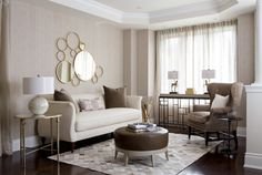 20 Pleasing Beige Sofas in the Living Room
