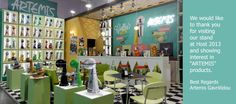 """ARTEMIS"" booth from HOST 2013, MILAN"
