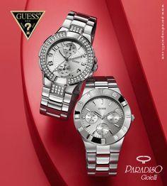 Orologi Guess http://www.paradisogioielli.com/it/2-home-gioielli-orologi#/produttore-guess/price-13-7190 #Watchs #Gioielli #Jewels #Silver #Cronografo #Cinturino #Preziosi #Moda