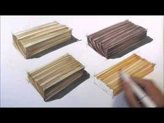 Timber Render - Woodgrain - YouTube