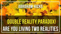 Abraham Hicks, Paradox, Law Of Attraction, The Creator, Meditation, Spirituality, Live, Spiritual, Christian Meditation