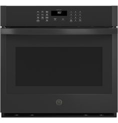 GE® 30 Smart Built-In Self-Clean Single Wall Oven with Never-Scrub Racks - JTS3000DNBB Cooking Appliances, Kitchen Appliances, Clean Oven Door, Single Wall Oven, Electric Wall Oven, Steam Cleaning, Oven Racks, Cool Kitchens, Wall Ovens