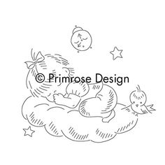 Vintage Embroidery Pattern PDF Lil' Angels by primrose on Etsy