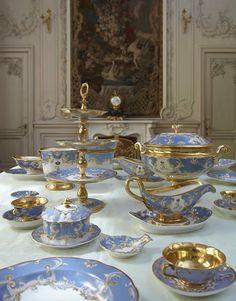 Farm Palace Banquet Service. Imperial Russian Porcelain Factory