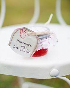 WeddingChannel Galleries: Homemade Jam Favor