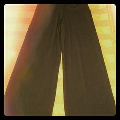 "Black Kensie Dress Pants Great wide leg dress pant. Soft and comfortable.  Insteam 31""  waist 38. 14 across the waist band. worn once Kensie Pants"