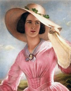 Joseph Karl Stieler-daughter of the artist