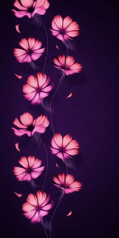 download pink flowers wallpaper by perfumevanilla c5 free on