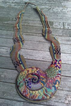 Gorgeous!! :: Bib necklace by Theodora Elston