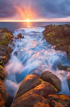 Sunkissed - Yallingup, Western Australia .