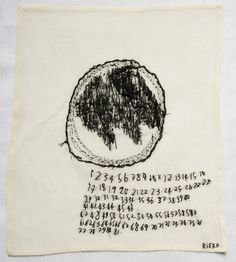 2011 COUNTS EIGHTY-ONE by Rieko Koga (born in Tokyo; based in Paris since 1993)