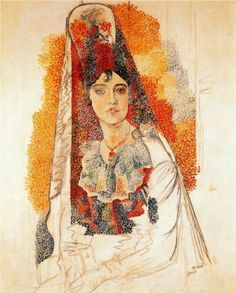 Woman with spanish dress - Pablo Picasso