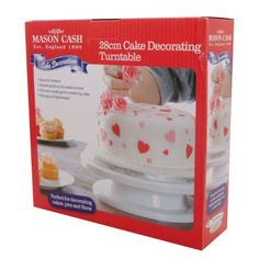Mason Cash 28 cm Turntable in Gift Box -     Tools for novices & professionals Developed by professional cake designers Tools for cupcakes, pastries, pies, tarts & flans Helps to create perfect & precisae designs Elegant solutions     - #28, #Box, #Cash, #Cm, #Gift, #In, #Mason, #Turntable  - http://wp.me/p2Sdif-4pJ