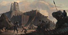 ArtStation - Ancient Civilizations: Lost & Found KeyFrame, Pablo Dominguez