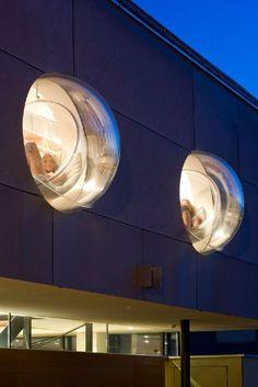 Bubble windows / KIKO House By Ohnmacht Flamm Architekten