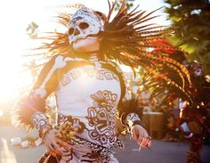 Los Angeles, CA ~ The Best Día De Los Muertos Events Happening Around Los Angeles 2015. From elaborate ceremonial altars and traditional dances to live music, art installations and delicious food, laist provides a list of some favorite Día de los Muertos events around L.A.