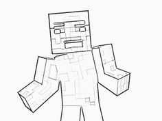 minecraft print out coloring pages - photo#26