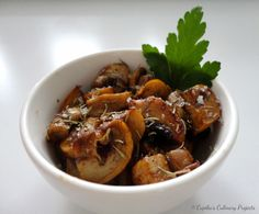 Cupika`s Culinary Projects : Kako najboljše speči gobe?/Cooking Tip: The Best Way How to Cook Mushrooms